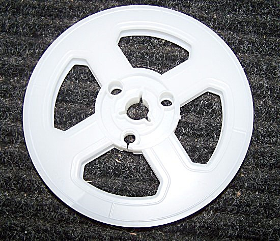 New Super 8 Movie Film Plastic 5 Inch Reel 200 ft (Image1)