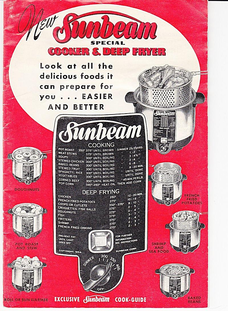 sunbeam cooker deep fryer downloadable e manual e manuals