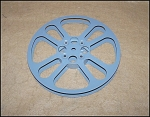 Click here to enlarge image and see more about item 16mm14: 7 Inch 16mm Movie Film Empty Metal Reel 400 ft