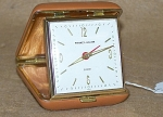 Click here to enlarge image and see more about item 1768: Beautiful Vintage Phinney-Walker Travel Alarm Clock