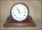 Click here to enlarge image and see more about item 1790: Famous Daniel Dakota Reproduction Table Clock