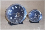 Click here to enlarge image and see more about item 6007: Westclox Style 8 Big Ben & Baby Ben Matched Set Alarms