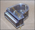 Click to view larger image of Vintage Piano Music Box (Image1)