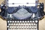 Click to view larger image of Classic 1933 Royal Glass Key Portable Typewriter (Image3)