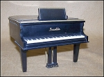 Click here to enlarge image and see more about item Piano1: Unique Vintage Franklin Piano Model
