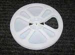 Click here to enlarge image and see more about item Reel8L: New Regular 8mm Movie Film Plastic 7 Inch Reel 400 ft