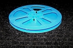 Click here to enlarge image and see more about item ReelS8L: New Super 8 Movie Film Plastic 7 Inch Reel 400 ft