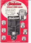 Click here to enlarge image and see more about item Sunbeam5: Sunbeam Cooker & Deep Fryer - Downloadable E-Manual
