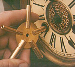 Click here to enlarge image and see more about item UKEY: Universal Clock Key - Wind All your Clocks