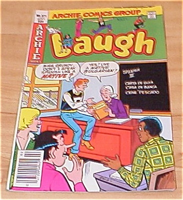 Archie Series: Laugh Comic Book No. 371