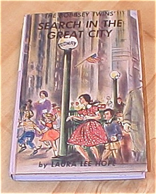 The Bobbsey Twins Search In The Great City Book #9