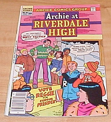 Archie Series:  Archie at  Riverdale High No. 85 (Image1)