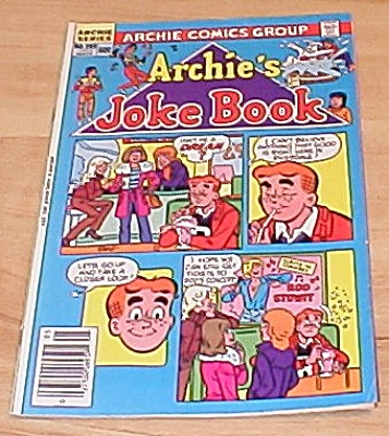 Archie Series: Archie's Joke Book Comic Book No. 285
