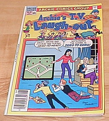 Archie Series: Archie's T.v. Laugh-out Comic Book No. 90