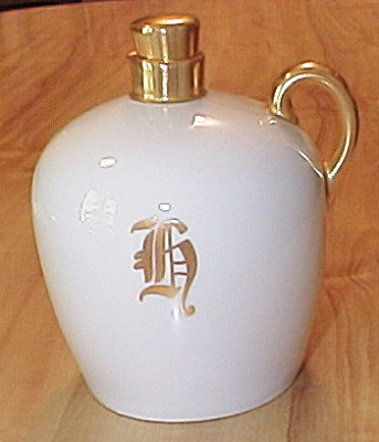 Sherratts Hand Painted T&v Limoges China Small Jug W/lid, H Initial