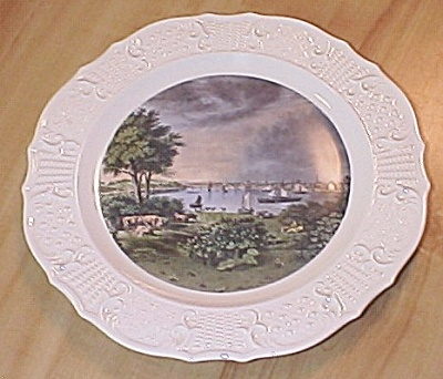 Currier And Ives Dishes. Currier & Ives China
