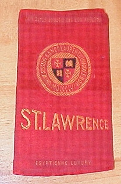 St. Lawrence University Cigarette Silk Egyptienne Luxury Cigarettes (Image1)