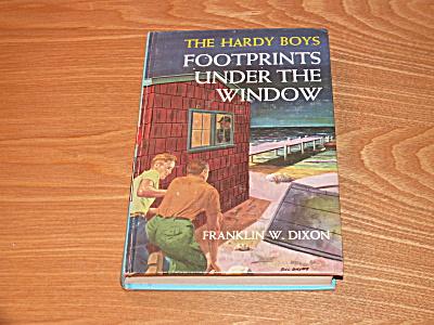 The Hardy Boys Series, Footprints Under the Window, Book #12, B (Image1)