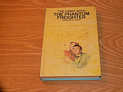 The Hardy Boys Series, The Phantom Freighter, Book #26