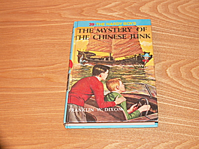 The Hardy Boys Series, The Mystery Of The Chinese Junk, Book #39a