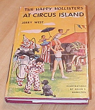 The Happy Hollisters At Circus Island Book