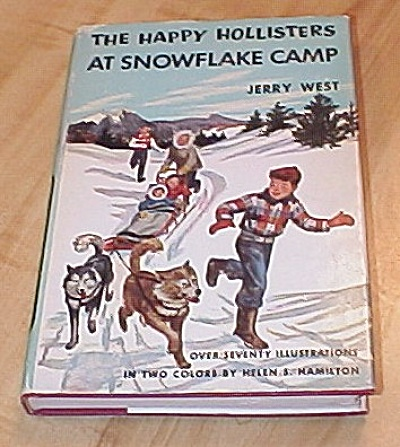 The Happy Hollisters At Snowflake Camp Book