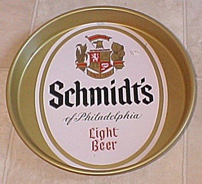 Schmidt's of Philadelphia Light Beer Tray (Image1)