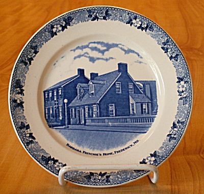 Souvenir China Adams Jonroth Barbara Fritchie Home House, Frederick Md