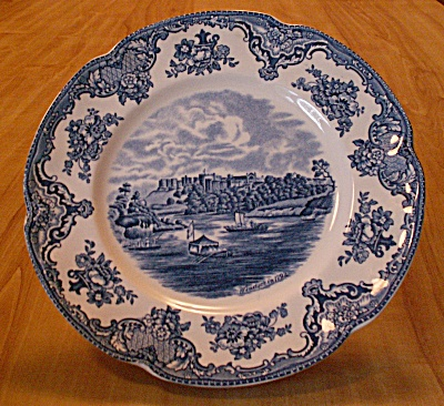 Johnson Brothers China England Old Britain Castles 8 7/8 Inch Plates