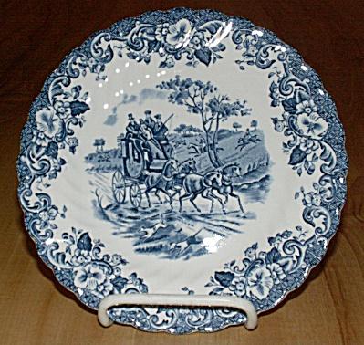 Johnson Brothers Coaching Scenes Hunting Country Bread & Butter Plate