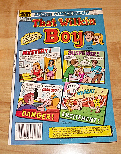 Archie Series: That Wilkin Boy Comic Book No. 51 (Image1)