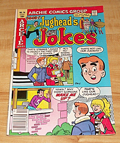 Archie Series: Jughead's Jokes Comic Book No. 76