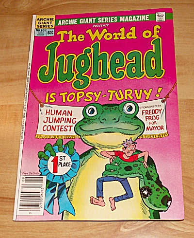 Archie Giant Series: The World Of Jughead Comic Book No. 531