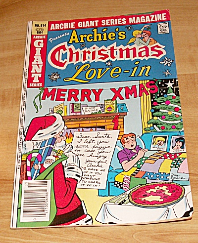 Archie Giant Series: Archie's Christmas Love-in Comic Book No. 514  (Image1)