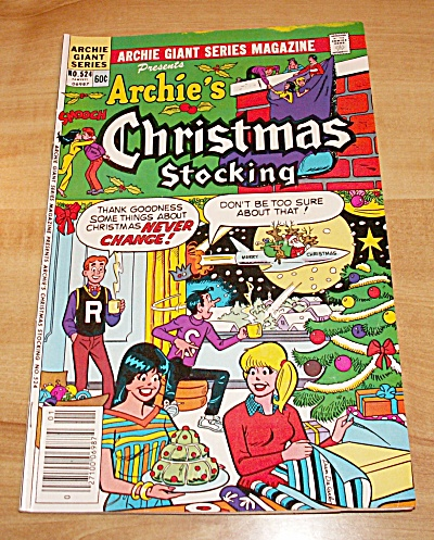 Archie Giant Series: Archie's Christmas Stocking Comic Book No. 524b