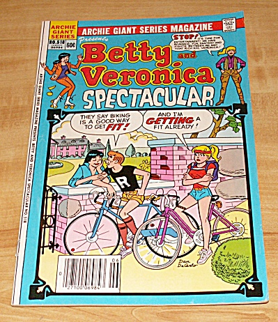 Archie Giant: Betty and Veronica Spectacular Comic Book No. 518  (Image1)