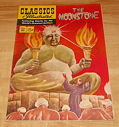 Classics Illustrated: The Moonstone Comic Book No. 30