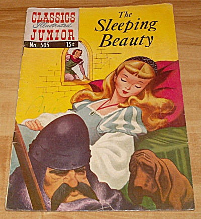 Classics Illustrated Junior: The Sleeping Beauty Comic Book No. 505