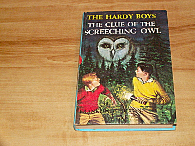 The Hardy Boys Series, The Clue Of The Screeching Owl, Book #41