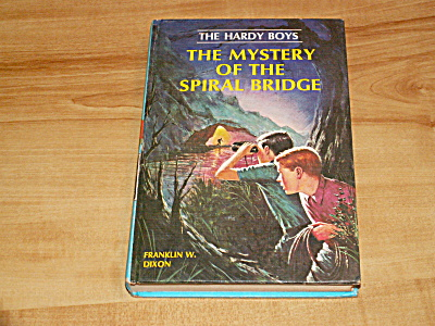 The Hardy Boys Series, The Mystery of the Spiral Bridge, Book #45 (Image1)