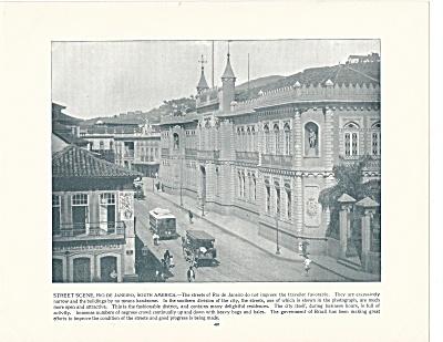 Rio de Janeiro, Brazil, 1892 Shepp's Photographs Original Book Page (Image1)