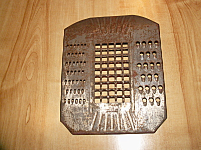 Vintage Hi-speed Safety Grater Kitchen Utensil, 1944 Patent Date