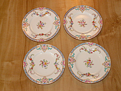 Set 4 Lovely 1931 Mintons B917 Bread Butter Plates 6 1/8 In. Minton  (Image1)