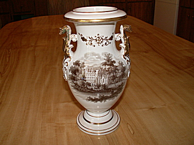 Victorian Urn Vase Scotland Taymouth Bothwell Castle Staple Repairs