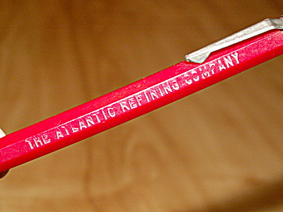Advertising Mechanical Pencil The Atlantic Refining Company Scripto (Image1)