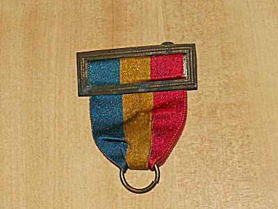 1894 Antique Ribbon Pin Bar For Military Or Other Medal Torsch & Lee