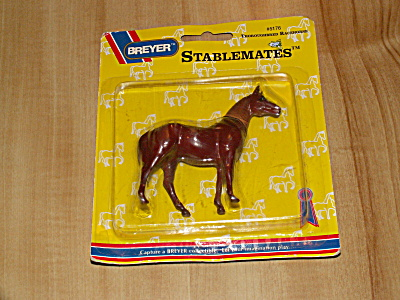 1994 Breyer Stablemates #5176 Thoroughbred Racehorse, New In Package