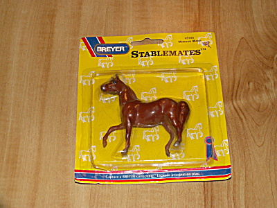 1994 Breyer Stablemates #5185 Morgan Mare Horse Unopened Package New (Image1)