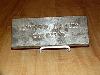 Vintage Advertising Tin National Biscuit Company Cookies Metal Box
