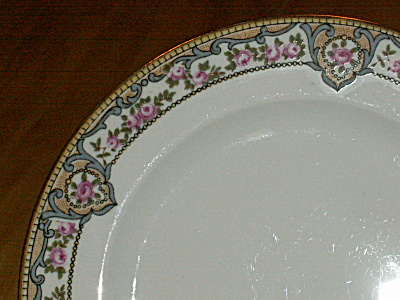 2 Hutschenreuther Selb Bavaria China Portland Bread & Butter Plates